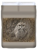 Owl In The Woods Duvet Cover