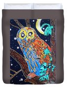 Owl Light Duvet Cover