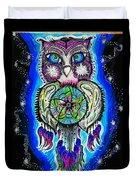 Owl No Uv Duvet Cover