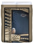 Owls And Trestles Duvet Cover