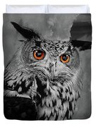 Owls Eye Duvet Cover
