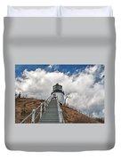 Owl's Head Lighthouse 4764 Duvet Cover