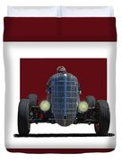 Owner Designed And Built Race Car Duvet Cover