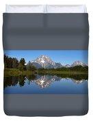 Oxbow Grand Teton Duvet Cover