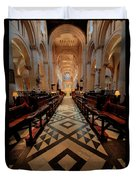 Oxford Cathedral Nave Duvet Cover