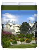 Oxford England Duvet Cover