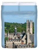 Oxford Tower View Duvet Cover