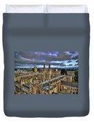 Oxford University - All Souls College Duvet Cover by Yhun Suarez