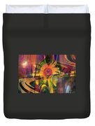 Oz And Poppies Duvet Cover