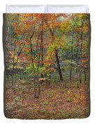 Ozark Forest In Fall 1 Duvet Cover
