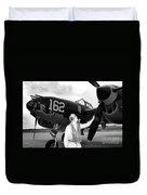 P-38 Ghost Flight Duvet Cover
