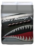 P-40 Warhawk Duvet Cover