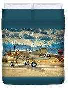 P38 Fly In Duvet Cover