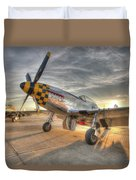 P51d Kimberely Kay And Comfortably Numb At Hollister Duvet Cover