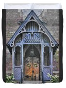 Pa Country Churches - Coleman Memorial Chapel Exterior - Near Brickerville, Lancaster County Duvet Cover