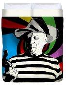 Pablo Colores Duvet Cover