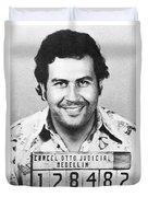 Pablo Escobar Mugshot Duvet Cover
