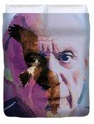 Pablo Picasso Portrait  Duvet Cover