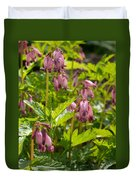 Pacific Bleeding Heart 2  Duvet Cover