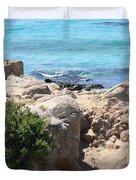 Pacific Blue Duvet Cover