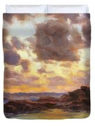 Pacific Clouds Duvet Cover
