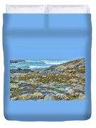 Pacific Coast Tide Pools Duvet Cover