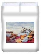 Pacific Coastline Duvet Cover
