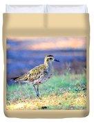 Pacific Golden Plover - 2 Duvet Cover