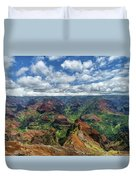 Pacific Grand Canyon Duvet Cover