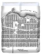 Pacific Grove May 7 1887 Duvet Cover