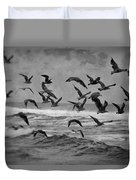 Pacific Gulls Duvet Cover