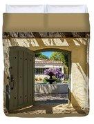 Pacific House Garden Duvet Cover