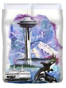 Pacific Northwest Montage  Duvet Cover