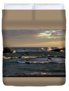 Pacific Ocean After The Storm Duvet Cover