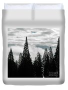 Pacific Pines Duvet Cover