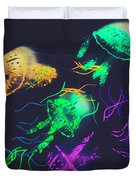 Pacific Pop-art Duvet Cover