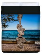 Pacific Rope Swing Duvet Cover