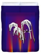 Pacific Science Center Arches 2 Duvet Cover