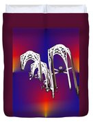 Pacific Science Center Arches Duvet Cover