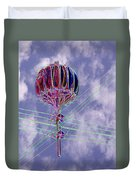 Pacific Science Center Lamp 2 Duvet Cover