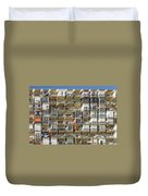 Pack And Stack - Costa Del Sol   Spain Duvet Cover