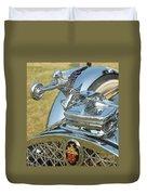 Packard Hood Ornament Duvet Cover