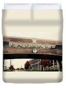 Packard Plant Duvet Cover