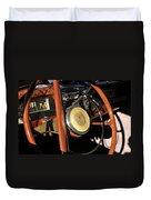Packard Steering Wheel Duvet Cover