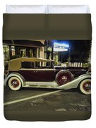 Packard Twelve Sedan Convertible Duvet Cover