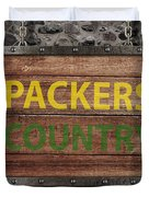 Packers Country Medieval  Duvet Cover