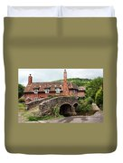Packhorse Bridge At Allerford Duvet Cover