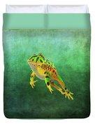 Pacman Frog Duvet Cover