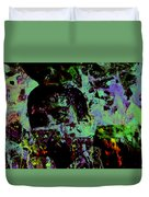 Pacquiao Paint Stay Focused On Your Goal Duvet Cover