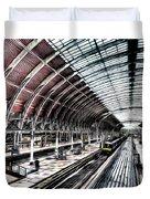 Paddington Station London Sketch Duvet Cover